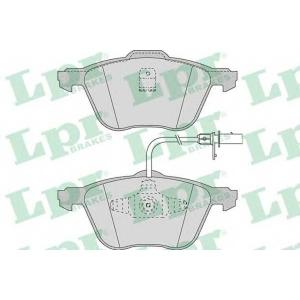 LPR 05P971 Тормозные колодки дисковые
