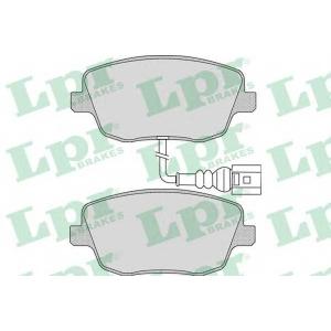 LPR 05P973 Гальмівні колодки, дискові
