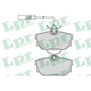 LPR 05P974 Тормозные колодки дисковые