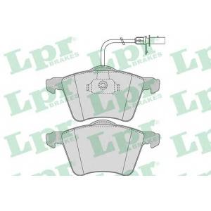 LPR 05P975 Тормозные колодки дисковые