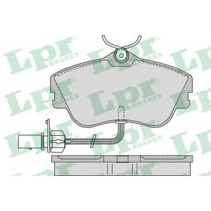 LPR 05P977 Тормозные колодки