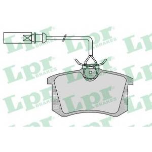 LPR 05P980 Гальмівні колодки, дискові