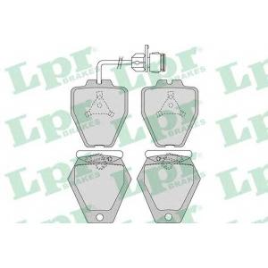 Комплект тормозных колодок, дисковый тормоз 05p981 lpr - AUDI A8 (4D2, 4D8) седан 4.2 quattro