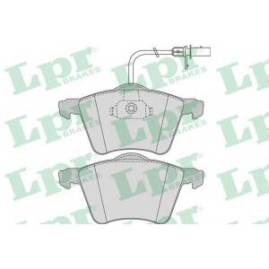 LPR 05P982 Тормозные колодки