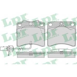 LPR 05P984 Тормозные колодки дисковые