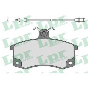 LPR 05P988 Тормозные колодки LADA 2110/21099