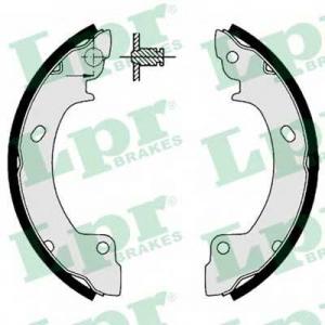 LPR 06410 Комплект тормозных колодок