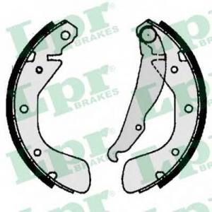 Комплект тормозных колодок 06790 lpr - OPEL ASTRA F Наклонная задняя часть (53_, 54_, 58_, 59_) Наклонная задняя часть 1.7 D