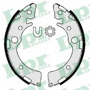 LPR 06980 Комплект тормозных колодок