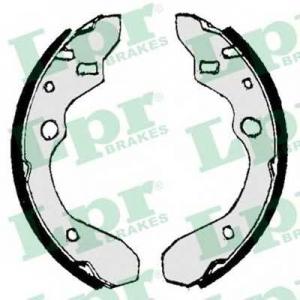 LPR 07010 Тормозные колодки барабанные