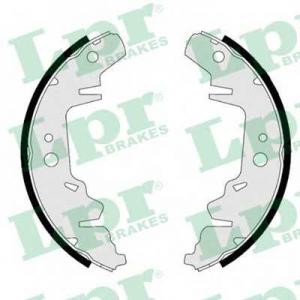 LPR 07280 Комплект тормозных колодок