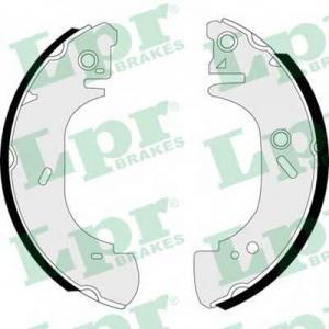 LPR 07400 Тормозные колодки барабанные