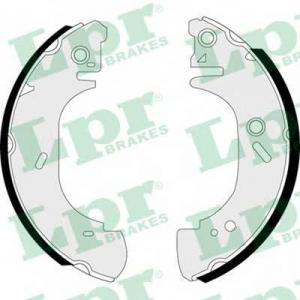 LPR 07410 Гальмівні колодки, барабанні