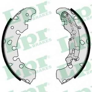 LPR 09090 Колодки тормозные барабанные Fiat CITROEN NEMO; FIAT IDEA, PANDA, PUNTO; LANCIA