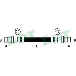 Тормозной шланг 6t46118 lpr - OPEL CORSA A TR (91_, 92_, 96_, 97_) седан 1.2 N