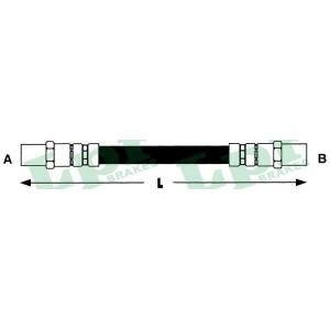 Тормозной шланг 6t46126 lpr - AUDI 50 (86) Наклонная задняя часть 1.1