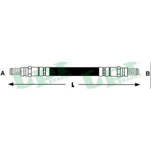 LPR 6T46222 Шланг гальмівний