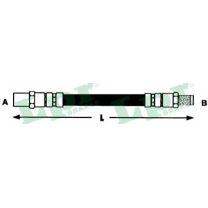 Тормозной шланг 6t46586 lpr - AUDI V8 (44_, 4C_) седан 3.6 quattro
