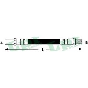 Тормозной шланг 6t46593 lpr - LADA SAMARA (2108, 2109) Наклонная задняя часть 1300