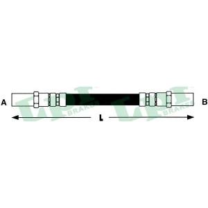 Тормозной шланг 6t46594 lpr - LADA SAMARA (2108, 2109) Наклонная задняя часть 1300