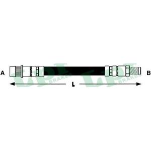 Тормозной шланг 6t46616 lpr - CITRO?N XSARA (N1) Наклонная задняя часть 1.9 D