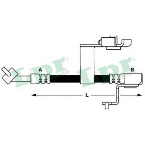 LPR 6T46658 Шланг гальмівний