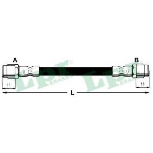 Тормозной шланг 6t46748 lpr - AUDI A8 (4D2, 4D8) седан 4.2 quattro