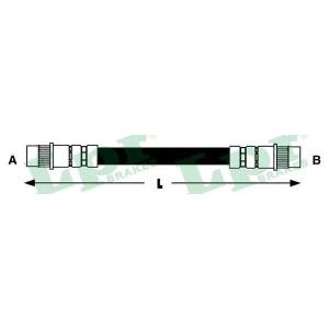 6t46755 lpr Тормозной шланг CITROËN BERLINGO фургон 1.1 i (MAHDZ, MBHDZ, MBHFX)