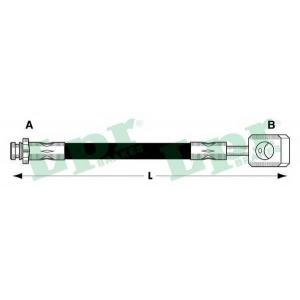 Тормозной шланг 6t46795 lpr - DAEWOO MATIZ (KLYA) Наклонная задняя часть 0.8