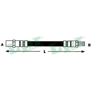 LPR 6T46857 Rubber brake hose