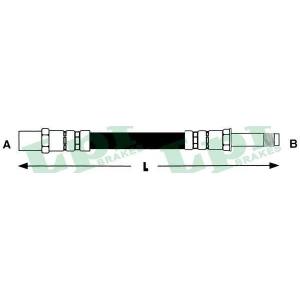 LPR 6T46890 Шланг гальмівний