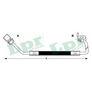 LPR 6T47264 Rubber brake hose