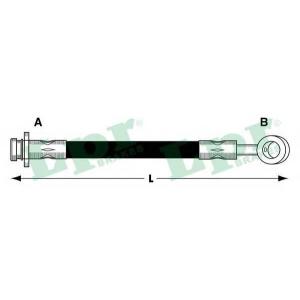LPR 6T47289 Rubber brake hose