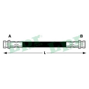 LPR 6T47839 Тормозной шланг