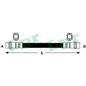 Тормозной шланг 6t47845 lpr - FIAT PANDA (141A_) Наклонная задняя часть 750 (141AA)