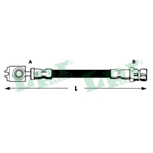 Тормозной шланг 6t47889 lpr - SEAT LEON (1M1) Наклонная задняя часть 1.9 TDI