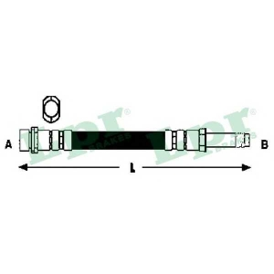 LPR 6T47898 Тормозной шланг