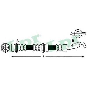 LPR 6T47920 Тормозной шланг