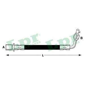 LPR 6T47937 Rubber brake hose