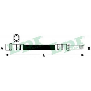 LPR 6T47996 Тормозной шланг