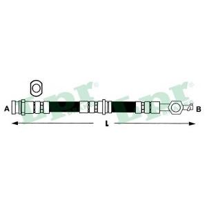 6t48097 lpr Тормозной шланг TOYOTA COROLLA Наклонная задняя часть 1.4 VVT-i