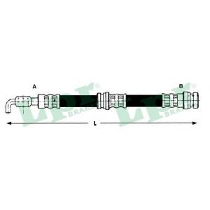 LPR 6T48215 Шланг гальмівний