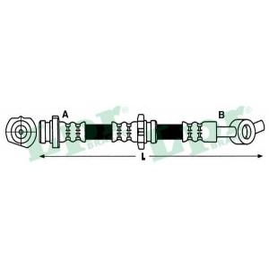 LPR 6T48226 Тормозной шланг