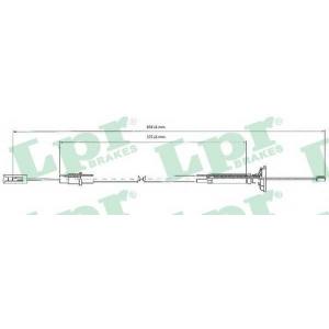 LPR C0263C Clutch bowden