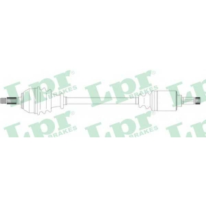 LPR DS38009 Half shaft