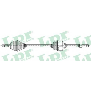 LPR DS52129 Half shaft