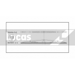 LUCAS ELECTRICAL LWCB16 Щетка стеклоочистителя
