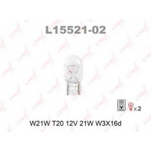 LYNX l15521-02 Лампа накаливания в блистере 2шт.