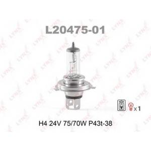 LYNX l20475-01 Лампа галогеновая в блистере 1шт.
