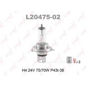 LYNX l20475-02 Лампа галогеновая в блистере 2шт.